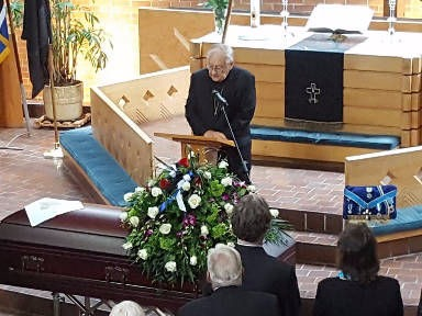 Andres Taul funeral